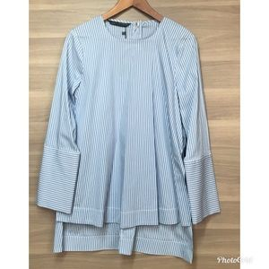 Zara Long Sleeve Tunic Blouse Top